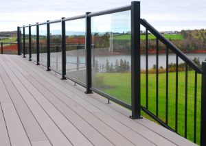 Century Railings' Glass Railing Series