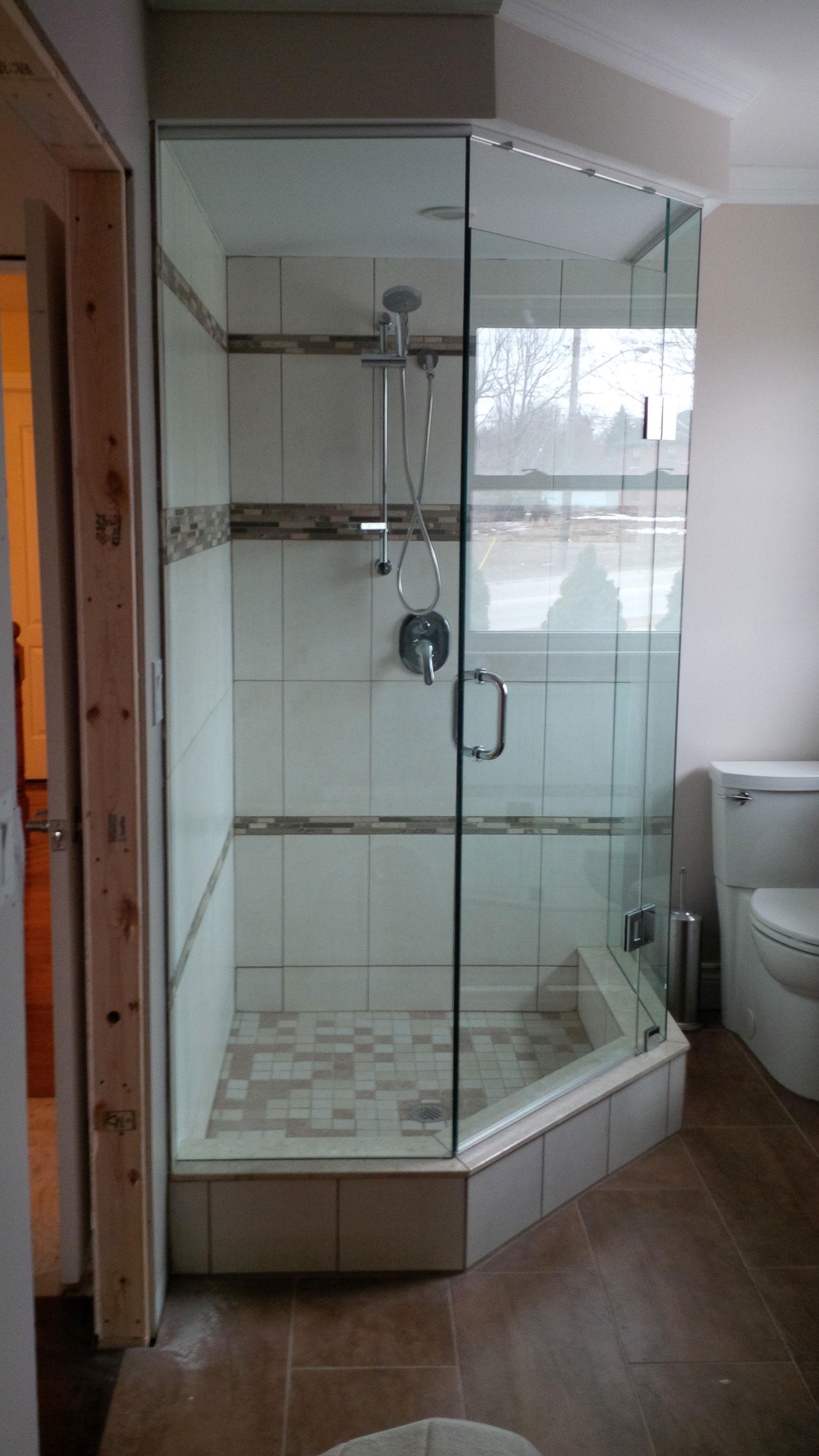 Sierra Glass Frameless Glass Shower Enclosures